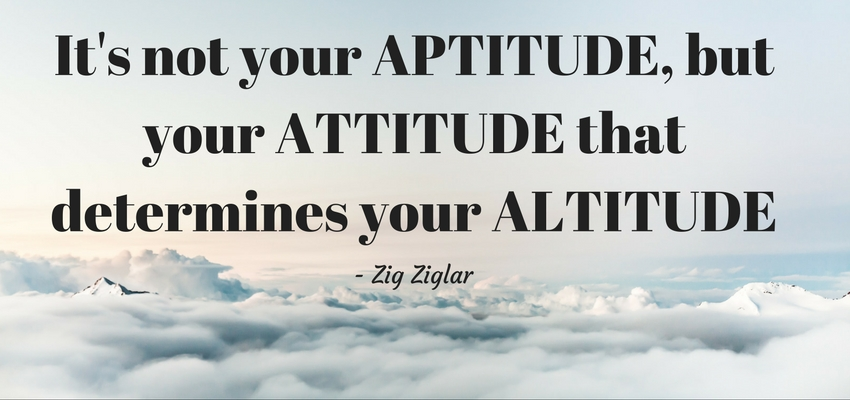 positve attitude-success-business