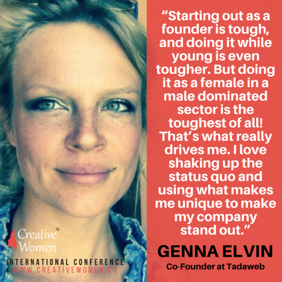 Genna Elvin women entrepreneurs