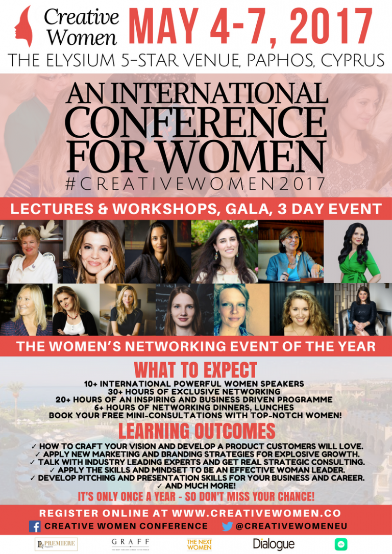Creative Women Conference Cyprus