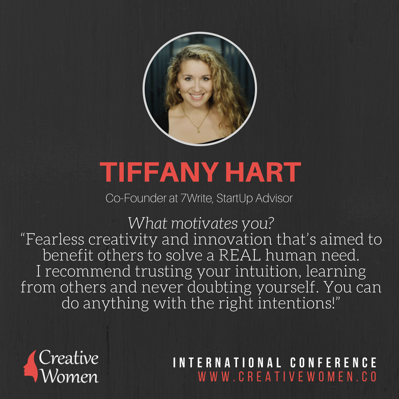 Tiffany Hart Morning Routine Creative Women Conference