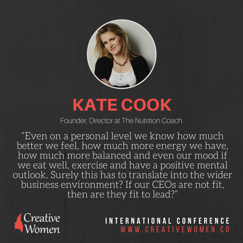 Kate Cook Morning Routine Creative Women Conference
